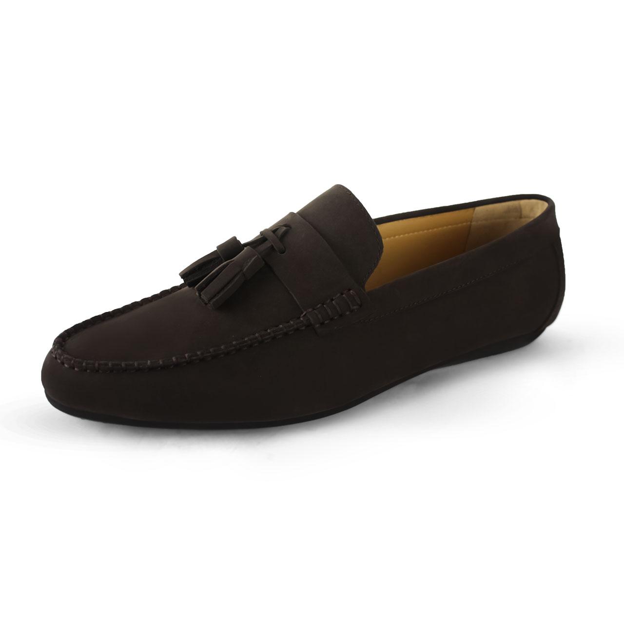Men's Shoes Suede Comfort Slip On Kiltie Loafers