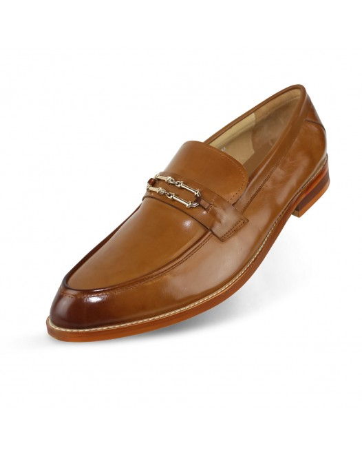 Men's Closed Toe Formal Leather Office Loafer Shoes