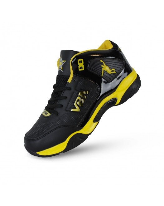 VBA 8 Men's Sports Basketball Shoes Yellow/Blue/Red