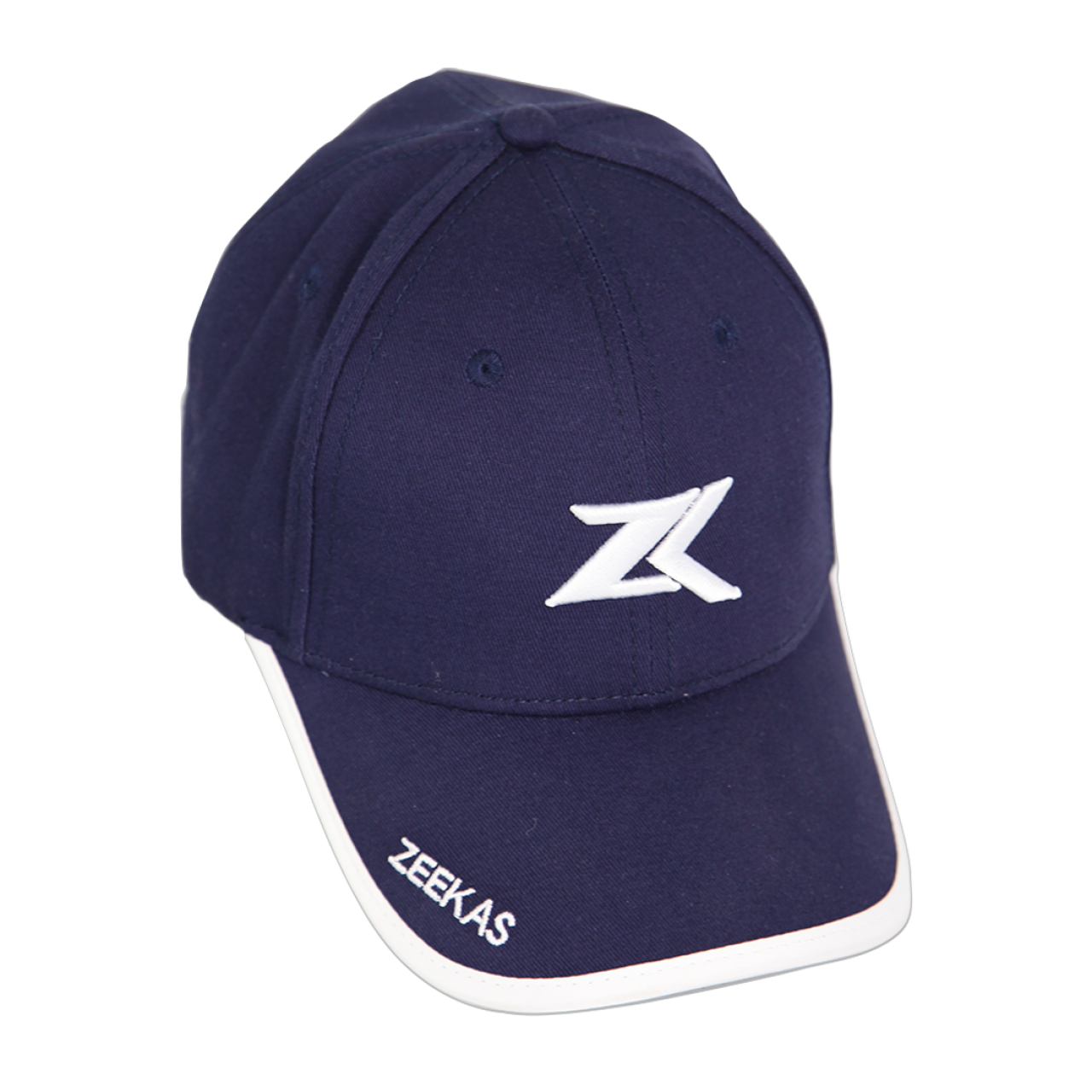 Zeekas ZK Navy Blue Baseball Cap with Brand Embroidery Hat For Men and Women