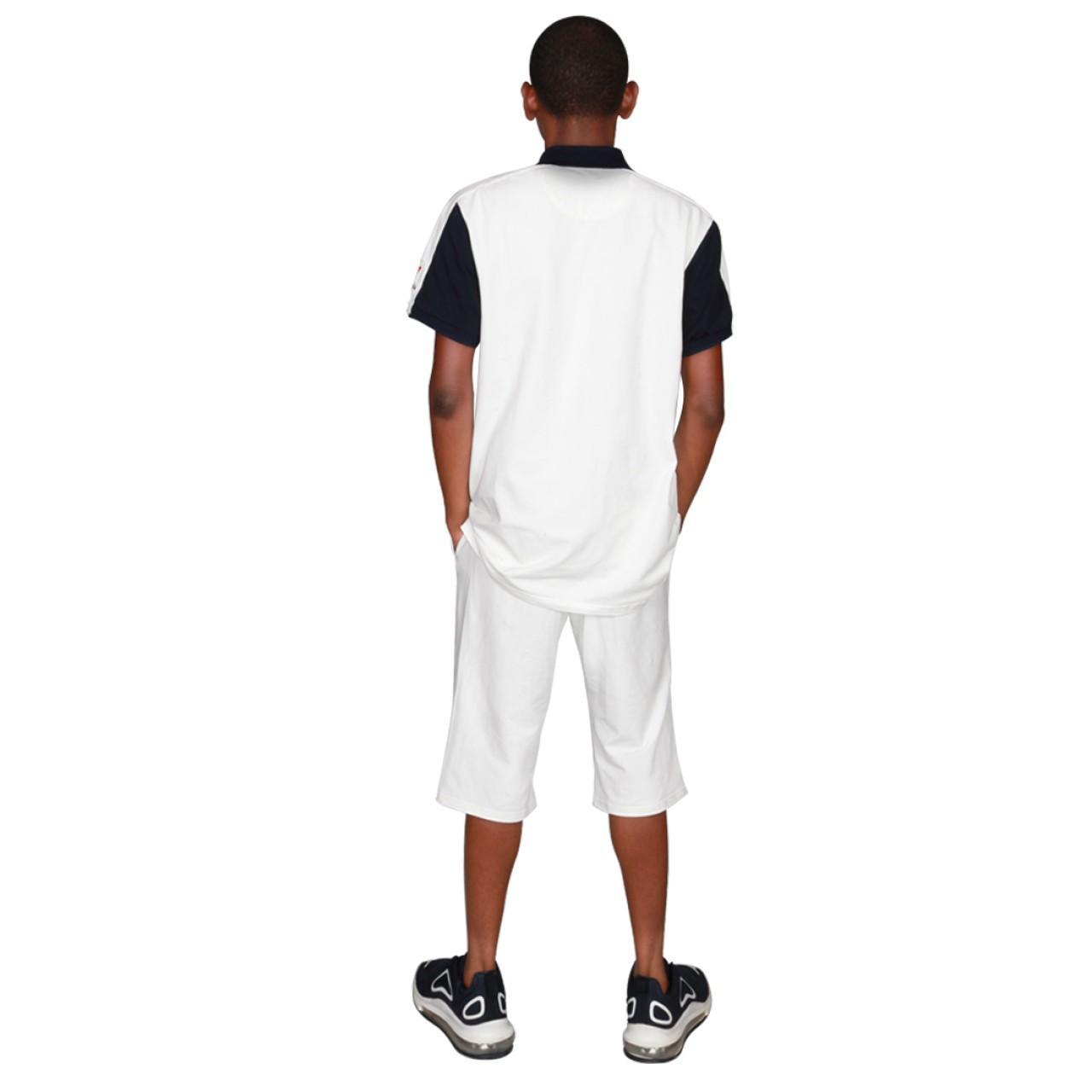 Zeekas Mens Brisco Park Rugby Club Short Sleeve With Logo Design For Polo Shirt