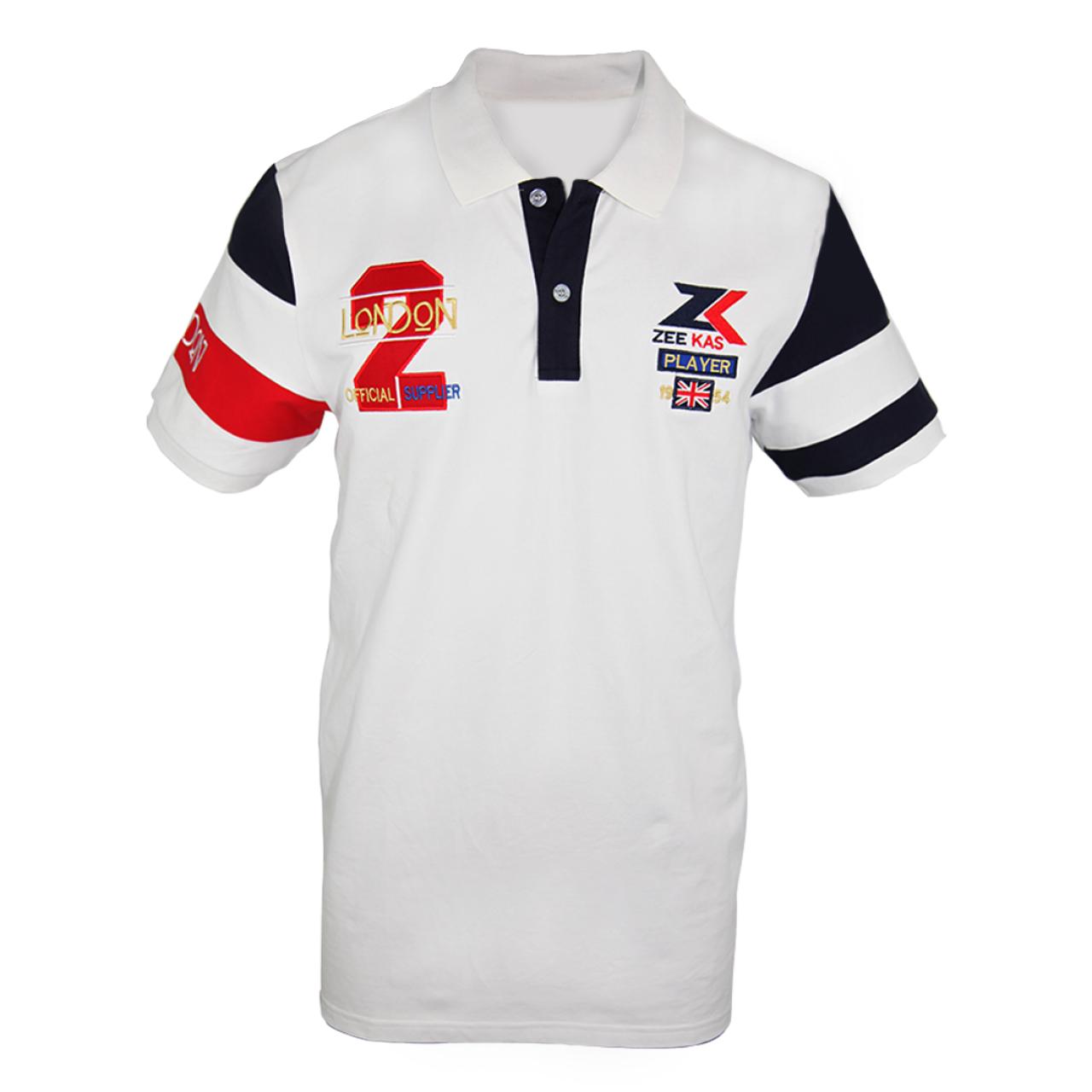 Zeekas Men's No.2 London Player Half Sleeves Polo Shirt
