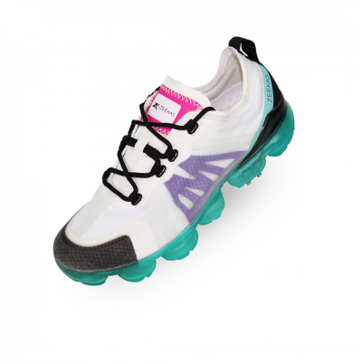 Zeekas Women's Air Max Textured Multi-Color Lace-Up Sneakers / Sports Shoes