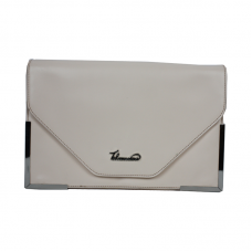 Casual White Clutch