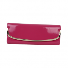 Stylish Compact Pink Clutch Bag