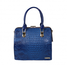 Stylish moderate blue tote bag for women's