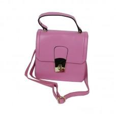 Clutch And Tote Violet color Fashion Handbag