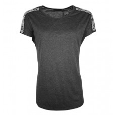 Solid Western Wear Women's Ash Grey T-Shirt